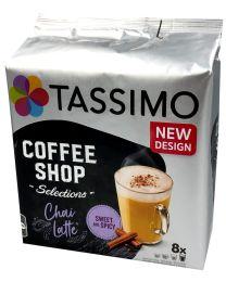 Tassimo capsules chai latte